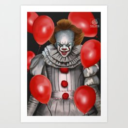 IT: Pennywise Art Print