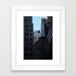 Water Towers Framed Art Print