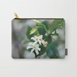 Jasmine Star Flower Carry-All Pouch