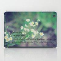 jane austen iPad Cases featuring Friends Jane Austen by KimberosePhotography