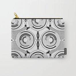 Ouroboros Serpent Animal Minimalistic Geometry Carry-All Pouch
