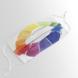 Color Wheel Face Mask