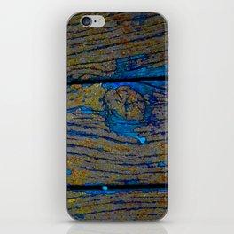 Aged Wood 1 iPhone Skin
