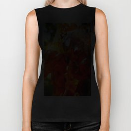 Apricot Resin Abstract Biker Tank