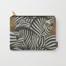 Africa Zebra Carry-All Pouch