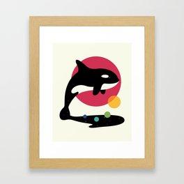 Jump Over Framed Art Print