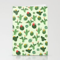 succulent Stationery Cards featuring Succulent by Kakel