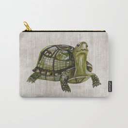 Little Turtle, Forest Animals, Woodland Decor, Woodland Art, Carry-All Pouch