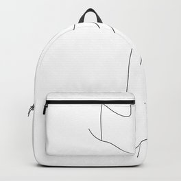 Red Wine Lines Backpack