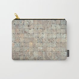 Square Stones Masonry Background Carry-All Pouch