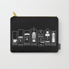 Coffee Whiskey Calendar Carry-All Pouch