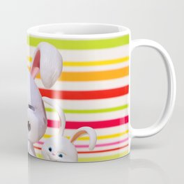 hare, evil, snowball, film character, pets, funny, cute, animal, toys, children, fun, Coffee Mug