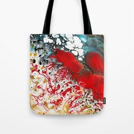 Abstract Field of Flowers - Vulpecula Tote Bag