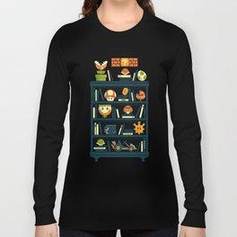 Mario Shelf Long Sleeve T-shirt