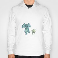 monsters inc Hoodies featuring Mike and Sully Monsters Inc. Disneys by Carma Zoe