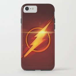 The Flash Movie Poster iPhone Case
