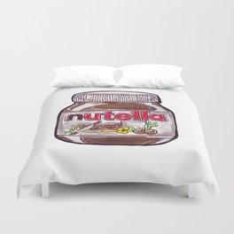 Nutella Duvet Cover