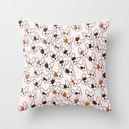 Cute French Bulldog Throw Pillow