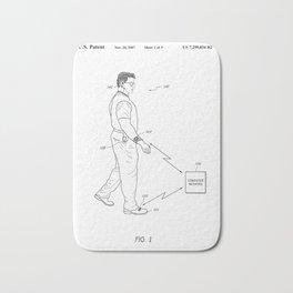 Retro 1980's Gadget Man Apple Watch Bath Mat