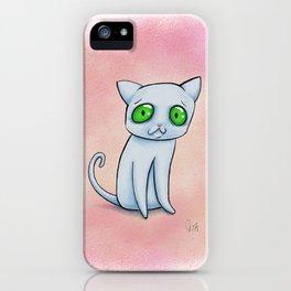 Ghost-cat iPhone Case