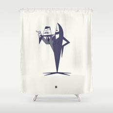 Madly in Love Shower Curtain