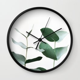 Eucalyptus 5 Wall Clock
