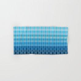 Cold Mosaic Checkers Hand & Bath Towel