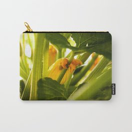 Zuchini Blossom Photography Print Carry-All Pouch