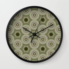 Fractal Cogs n Wheels in CMR02 Wall Clock