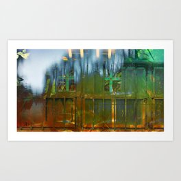 Rear Gate Art Print
