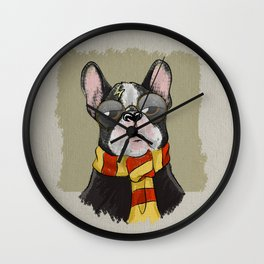 Harry Dogtter Wall Clock