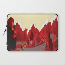A Stone Age Landscape Laptop Sleeve