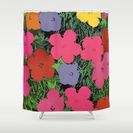 Collage Andy Pop Art Shower Curtain