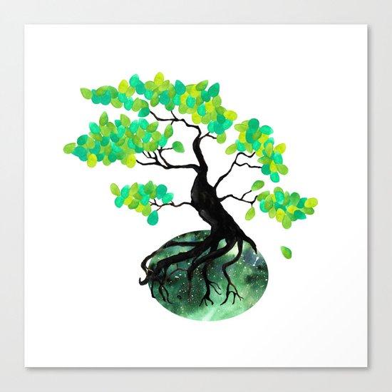 Organic Bonsai Canvas Print