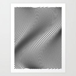 Bold Minimal Lines Art Print