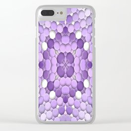 Bubblin' in Purple... Clear iPhone Case