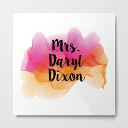 Mrs. Daryl Dixon Metal Print