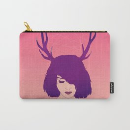 Jackalope Lady Carry-All Pouch