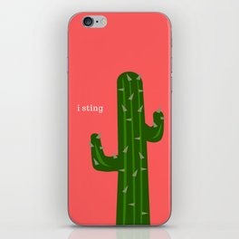 Cactus - that's what I do! iPhone Skin