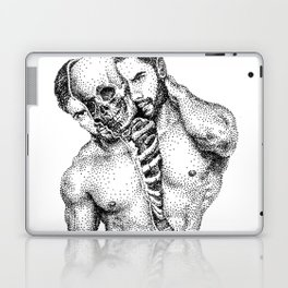 Split Spooky NOODDOOD Laptop & iPad Skin