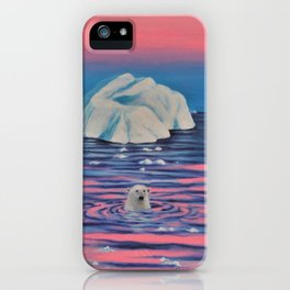 Bear Ice iPhone Case