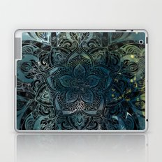 Flower mandala -night Laptop & iPad Skin