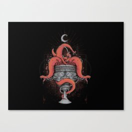 Cup of Sin Canvas Print