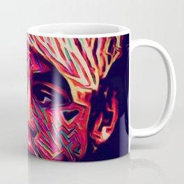 Painted Faces Bleeding Masks (L O V E is my V E R B) Coffee Mug