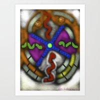 lsd Art Prints featuring LSD by Sam Vasilevsky