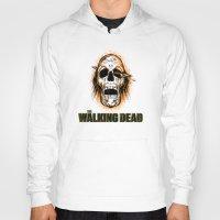 walking dead Hoodies featuring Walking Dead by ezmaya