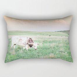 Oklahoma Longhorn Rectangular Pillow