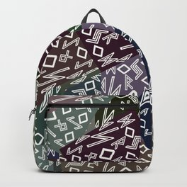 Runic patchwork for healing Backpack