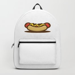 Hot Dog Sandwich Backpack