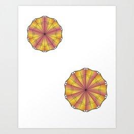 Mandala Project Six Art Print